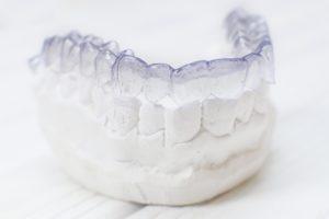 Invisalign in Millersville on a dental mold